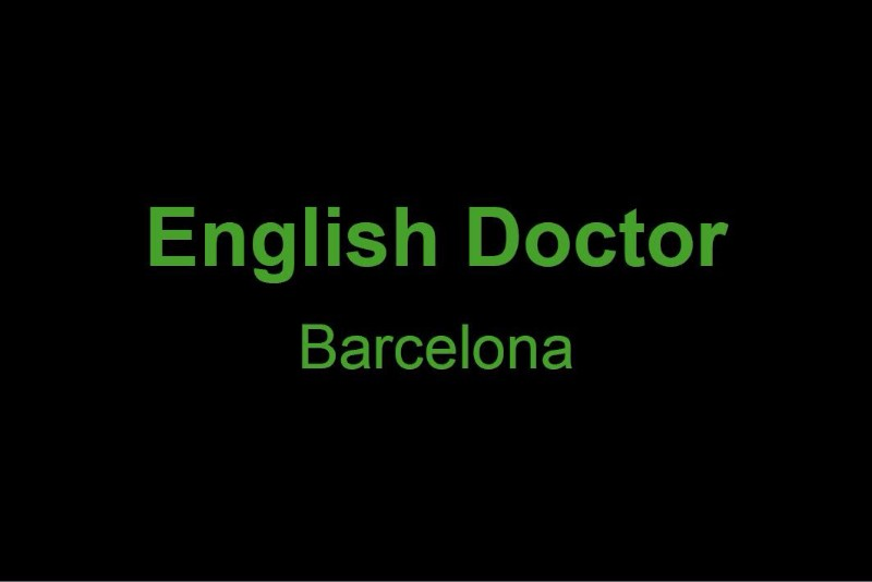 English Doctor Barcelona
